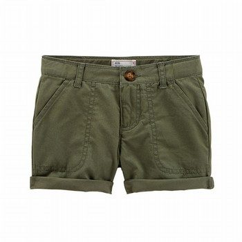 Carter's Twill Roll-Cuff Shorts