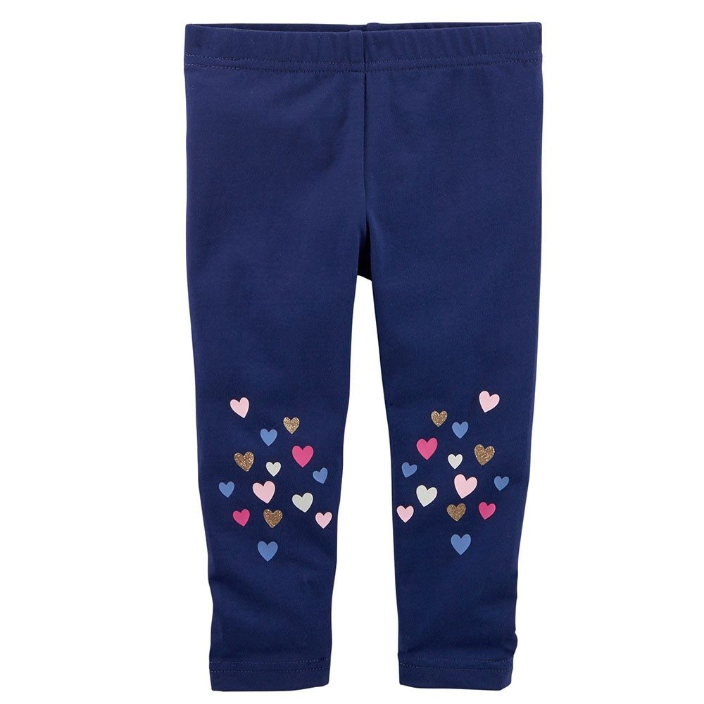 02d831189b560 Carter's Glitter Heart Capri Leggings - Toddler Girl