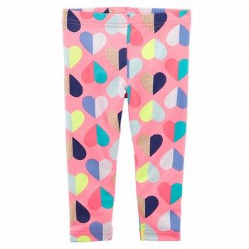 Carter's Heart Capri Leggings