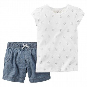 Carter's 2PC Top & Short Set