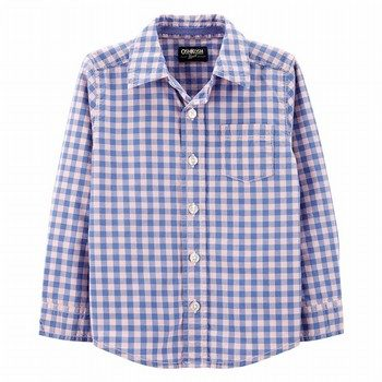 OshKosh B'gosh Checkered Button-Front Shirt