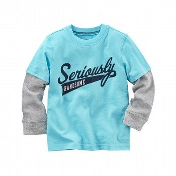 Carter's L/S Layered-Look Seriously Handsome Tee