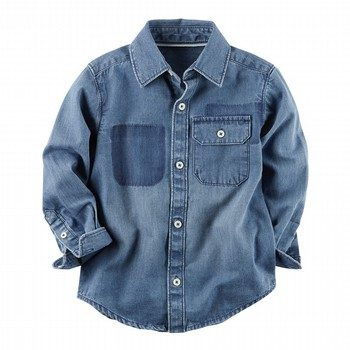 Carter's Denim Button-Front Shirt