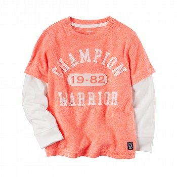 Carter's L/S Layered Athletic Tee