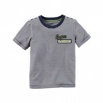 Carter's Stripe Patch S/S Tee