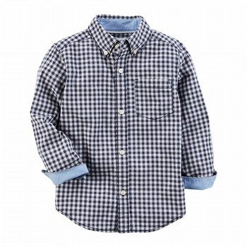 Carter's Gingham Button-Front Shirt