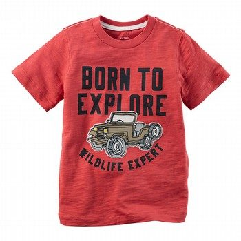 Carter's Born To Explore Graphic Tee