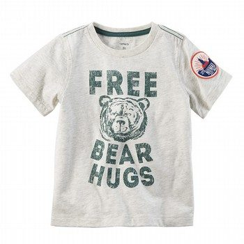 Carter's Free Bear Hugs Graphic Tee