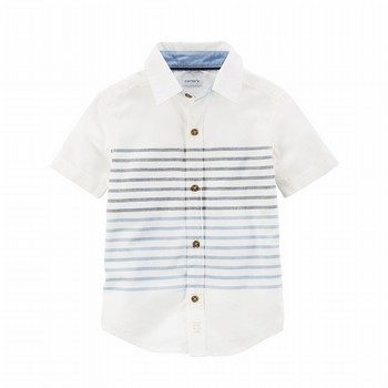 Carter's Striped Button-Front Shirt