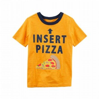 Carter's Pizza Jersey Tee