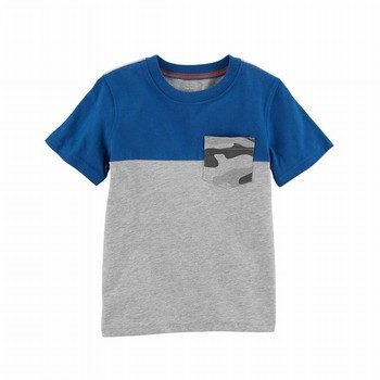 Carter's Colorblock Jersey Tee