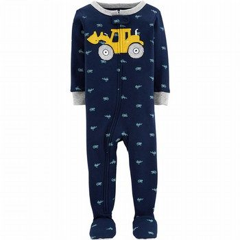 Carter's Snug Fit Cotton Onpiece Footed PJs