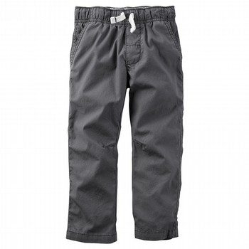 Carter's Stitched Poplin Pants