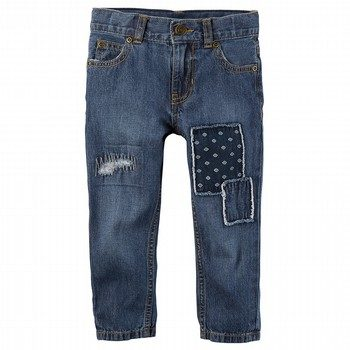 Carter's 5-Pocket Patch Straight Jeans