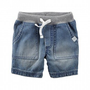 Carter's Pull-On Denim Shorts