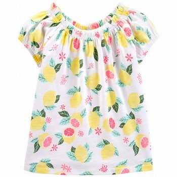 OshKosh B'gosh Lemon Jersey Top