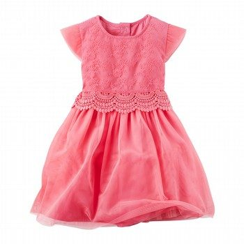Carter's Lace Layered-Look Dress