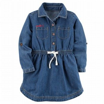 Carter's Denim Shirt Dress