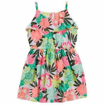 Carter's Floral Ruffle Dress