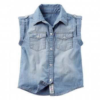 Carter's Chambray Sleeveless Top