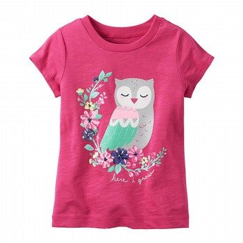 Carter's Owl Graphic Tee