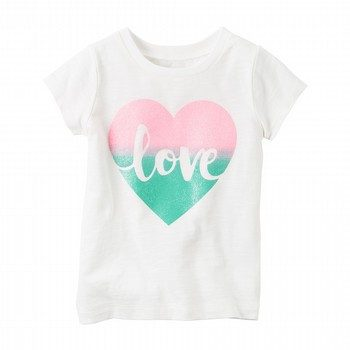 Carter's S/S Love Graphic Tee