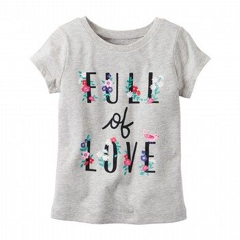 Carter's Full of Love Graphic Tee