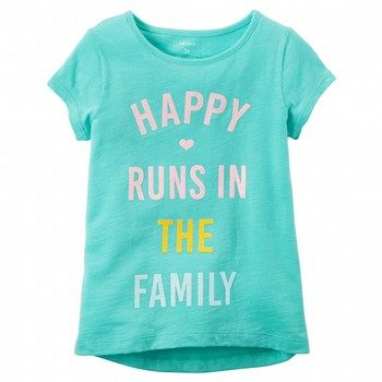Carter's Happy Runs In The Family Graphic Tee