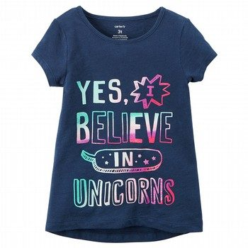 Carter's Believe In Unicorns Graphic Tee