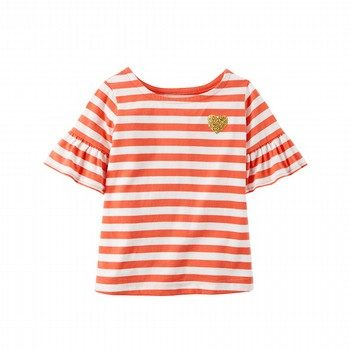 Carter's Bell-Sleeve Striped Shirt