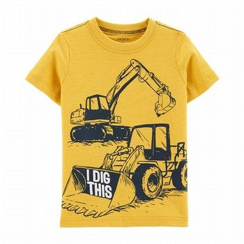 Carter's Construction Truck Jersey Tee