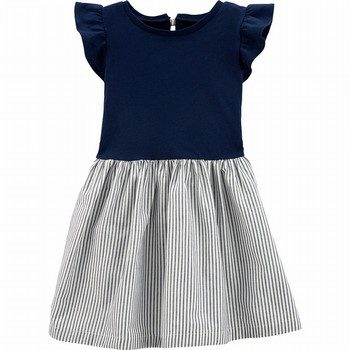 Carter's Striped Skirt Dress