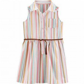 Carter's Striped Shirt Dress