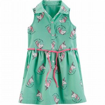 Carter's Unicorn Shirt Dress