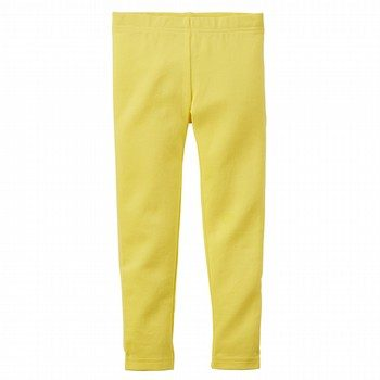 Carter's yellow leggings