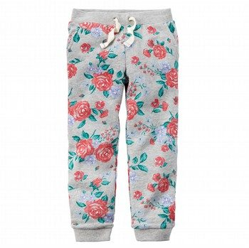 Carter's Floral Knit Jogger Pants