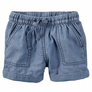 Carter's Pull-On Chambray Shorts