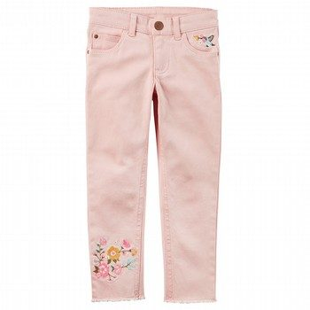 Carter's Embroidered Twill Pants