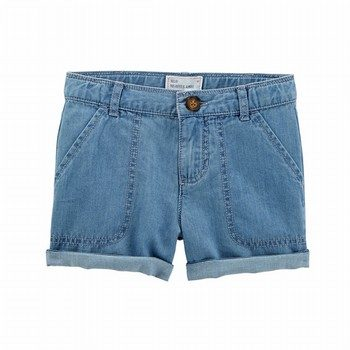 Carter's Denim Roll-Cuff Shorts