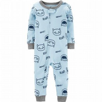 Carter's Snug Fit Cotton Onepiece Footless PJs