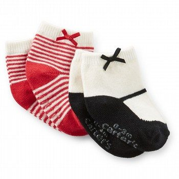 Carter's 2PK Bow Socks