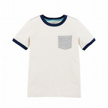 Carter's Slub Jersey Pocket Tee
