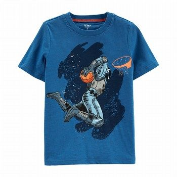 Carter's Space Basketball Jersey Tee