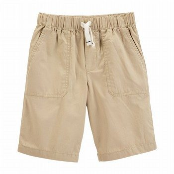 Carter's Pull-On Poplin Shorts