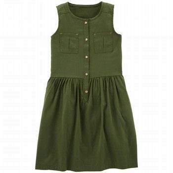 Carter's Sleeveless Pocket Dress