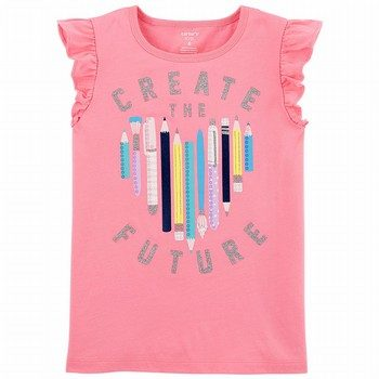 Carter's Glitter Create The Future Matchtastic Tee