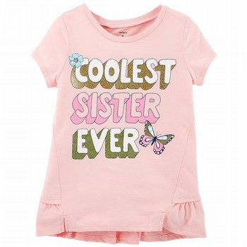 Carter's Coolest Sister Ever Ruffle Matchtastic Tee