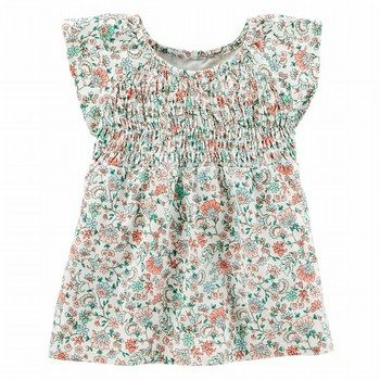 Carter's Floral Smocked Top