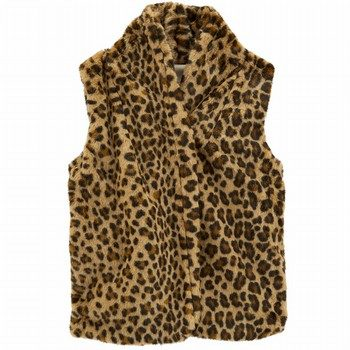 Carter's Cheetah Faux Fur Vest