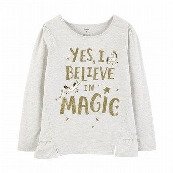 Carter's I Believe in Magic L/S Tee